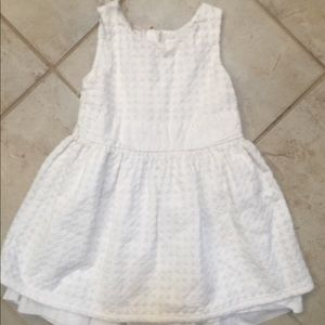 Cat &Jack 3T white sun dress